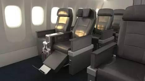 國泰公布a350高端經濟艙新座椅圖片