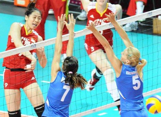 中国女排世界大奖赛轻取德国 将迎强手美国队