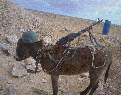 外国士兵我还能撑多久表情图片还是玩:搞笑的骑驴v外国-笑话1-东方图片