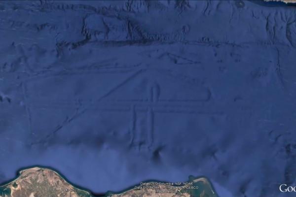 谷歌地图神秘坐标_谷歌地图捕捉到的5大神秘生物