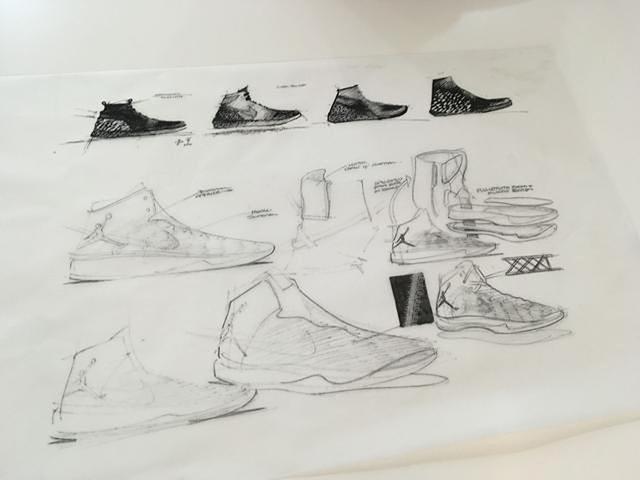 地表最强球鞋air jordan xxxi设计手稿完整公开
