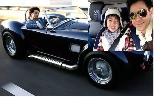 林志颖拥上亿豪车,拍照不晒老婆正脸,老婆不漂亮?