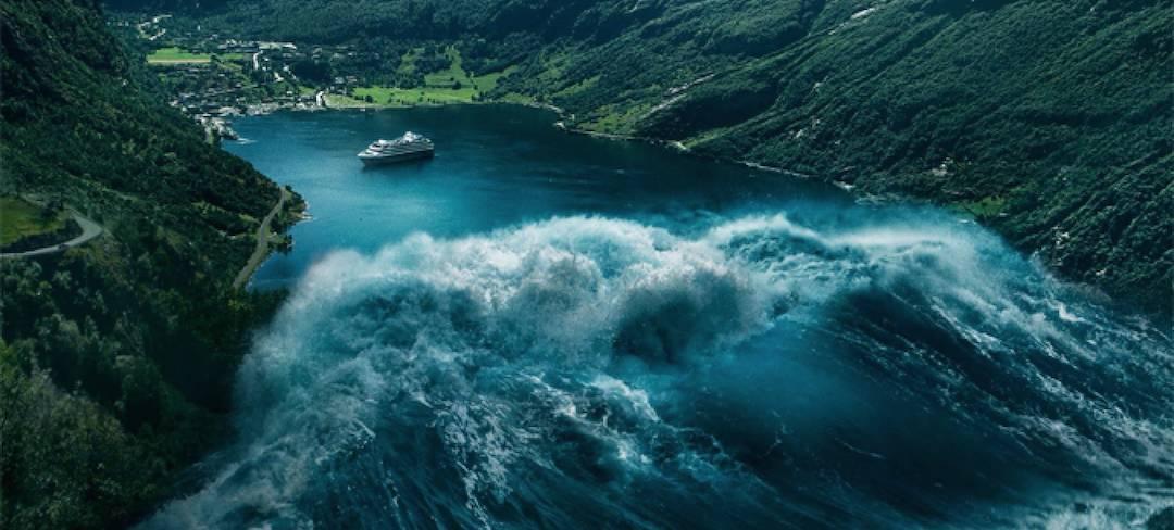 信息中心 挪威灾难片【海浪】   灾难片中大海中出现的巨大海浪图片