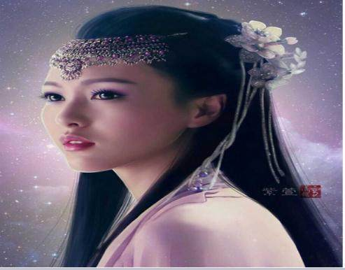 古装女星手绘图对比:刘亦菲纯净脱俗