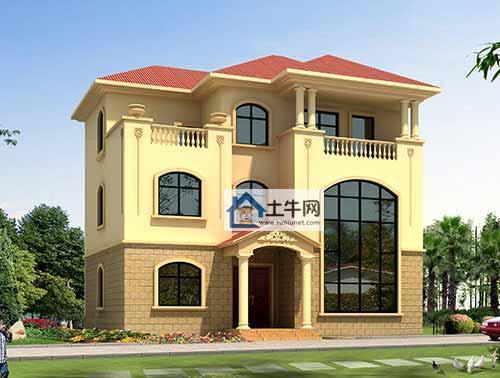 想建别墅这2套三层欧式别墅怎么样?