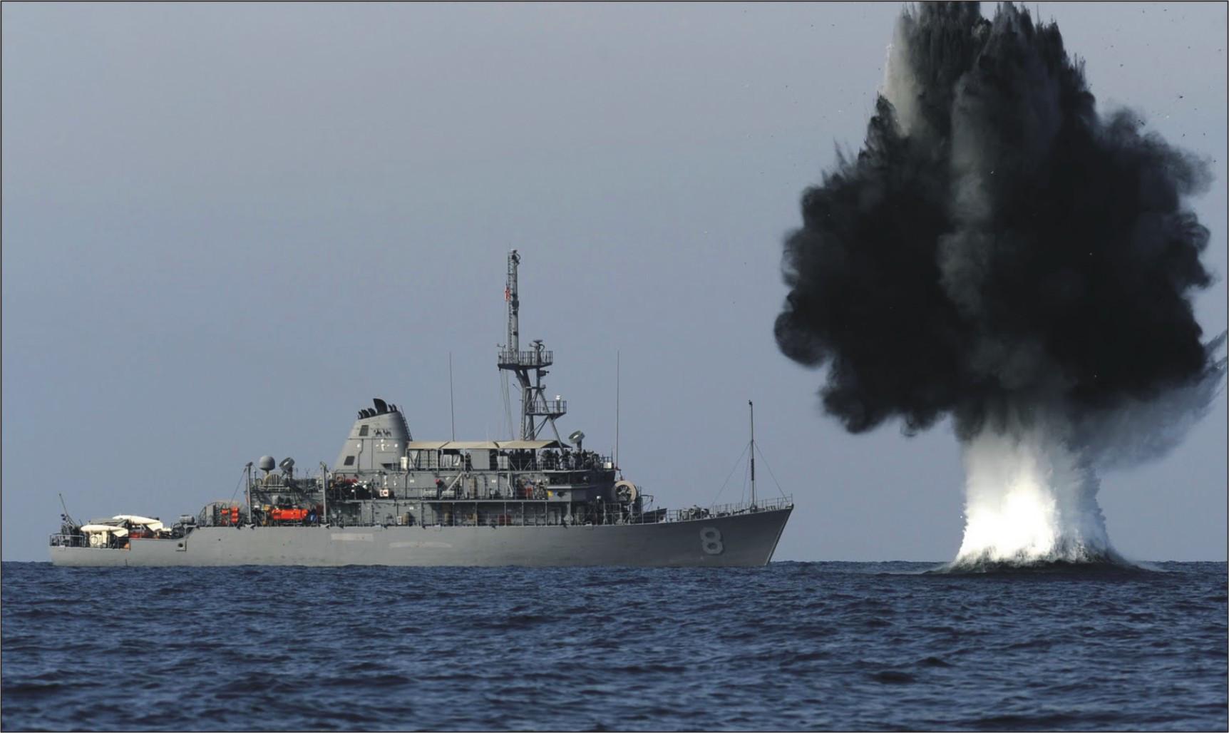 有钱买不到技术 印度50亿美元扫雷舰计划陷入