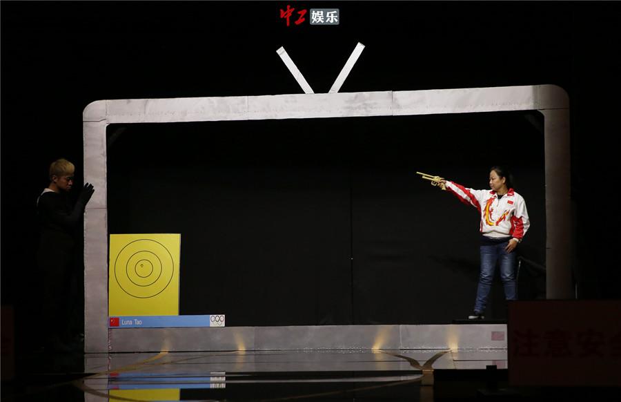 航天巅峰东方春晚重现时刻冠军女奥运英雄亲上海麦乐登山鞋图片