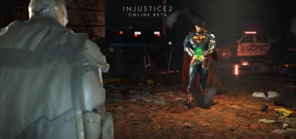 蝙蝠侠大战超人!《不义联盟2》游戏演示发布