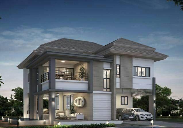 乡村别墅设计图|农村15万元二层小楼图
