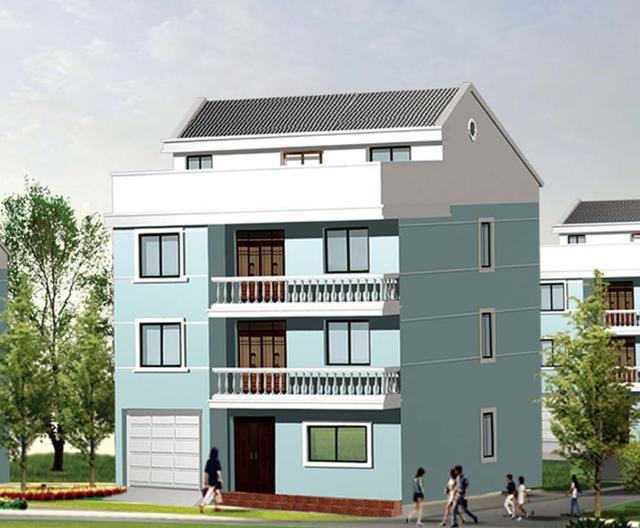11x11米农村自建房型,造型简单造价低,平面布局更加好