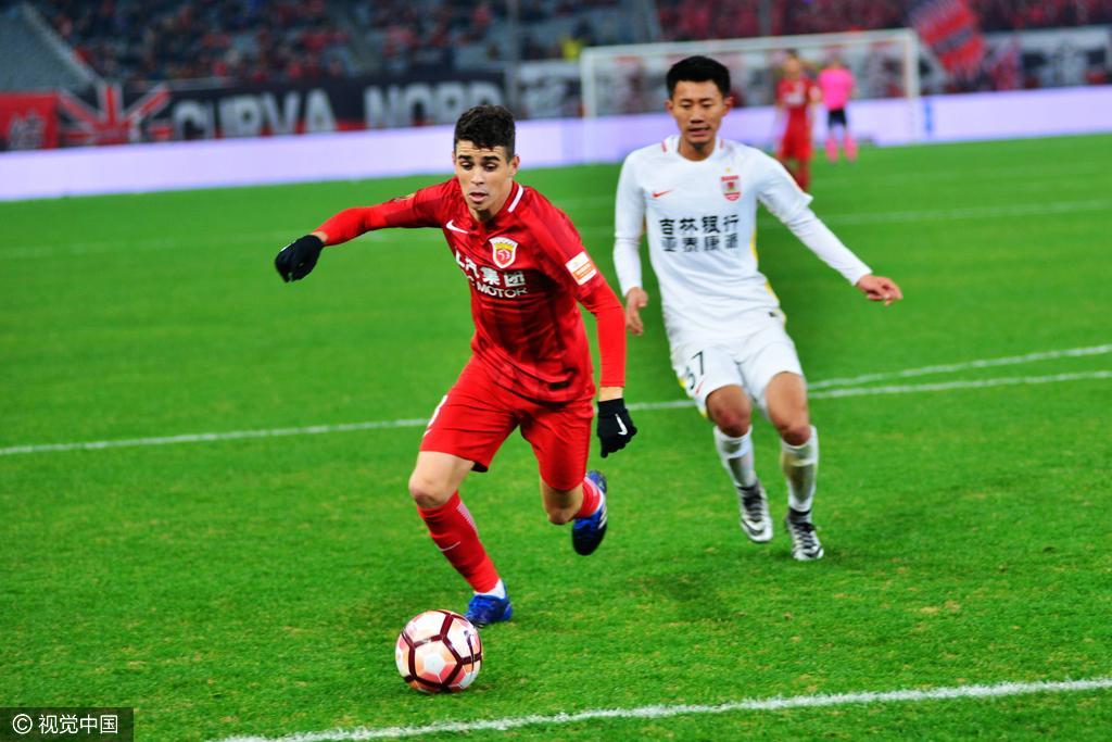 2017中超首轮:上海上港VS长春亚泰 - 体育 - 东