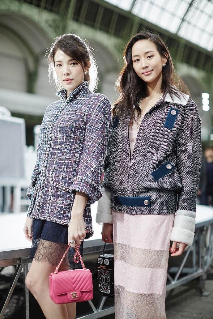 张钧宁亮相Chanel 2017秋冬巴黎发布会 - 时尚