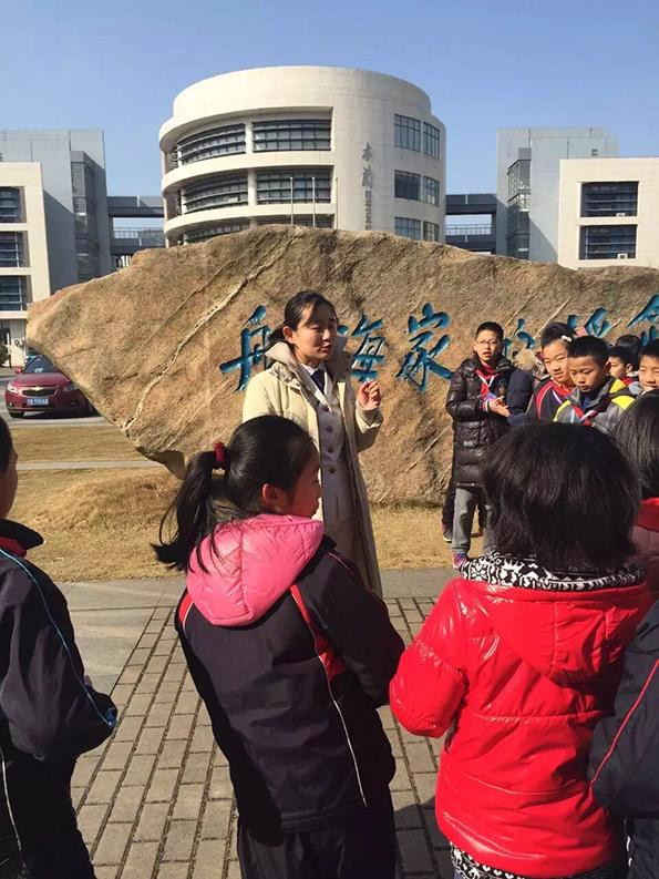上海秋景v秋景大学临港,十余位大学教师为儿童画小学小学图片