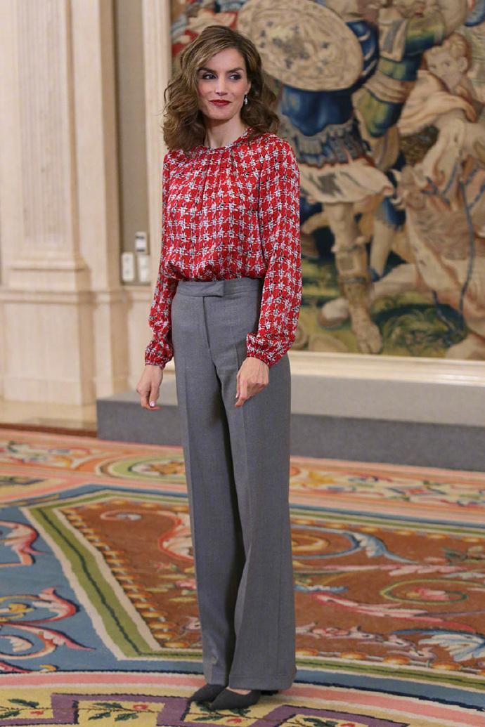 西班牙王妃Letizia是我心中的优雅女性代表…