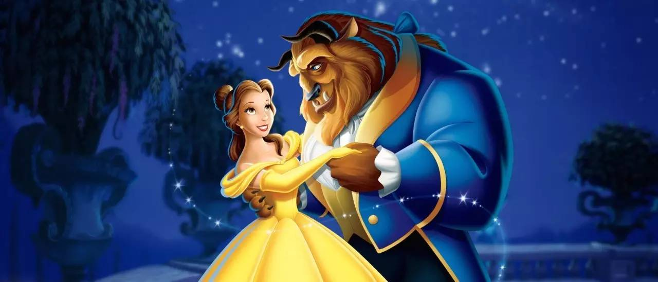 《电影与美女》可不野兽童话与手脚,在去公主美女只是反绑图片