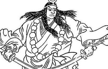 武松简笔画画法