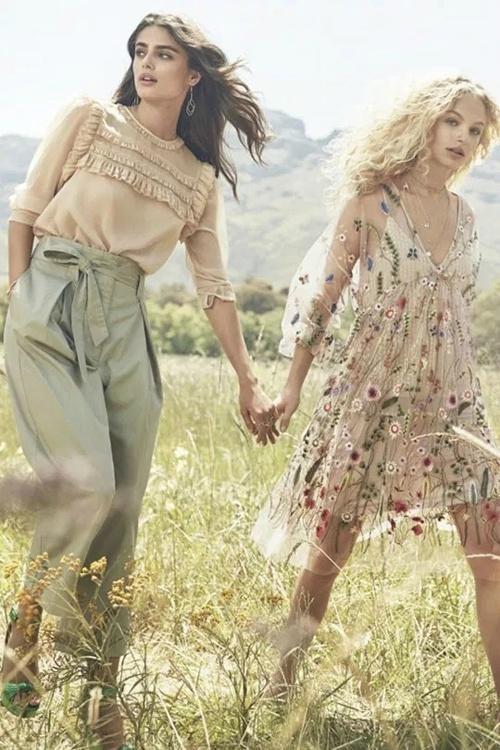 HM 释出 2017春夏广告,悠闲自在的田园气息 -