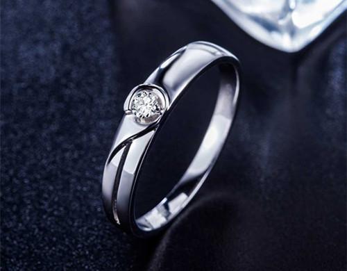 男士铂金戒指选什么款式好 男士戒指应如何挑选 0图片
