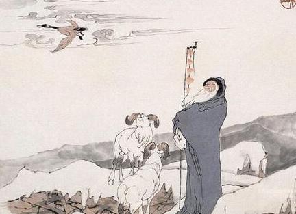 【鸿雁传书】的故事源于苏武牧羊 - 人文 - 东方