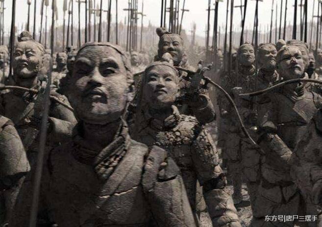 秦始皇阴兵复活,大将军白起大败霸刀表情包,项羽助阵而归图片