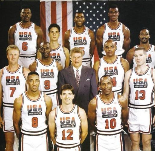 28年前的今天,国际篮联允许NBA球员参加奥运